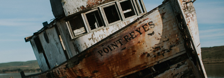 Point Reyes Shipwreck + Lighthouse   California