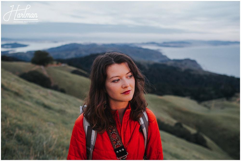 Mt Tamalpais Sunset Portrait Session _0013