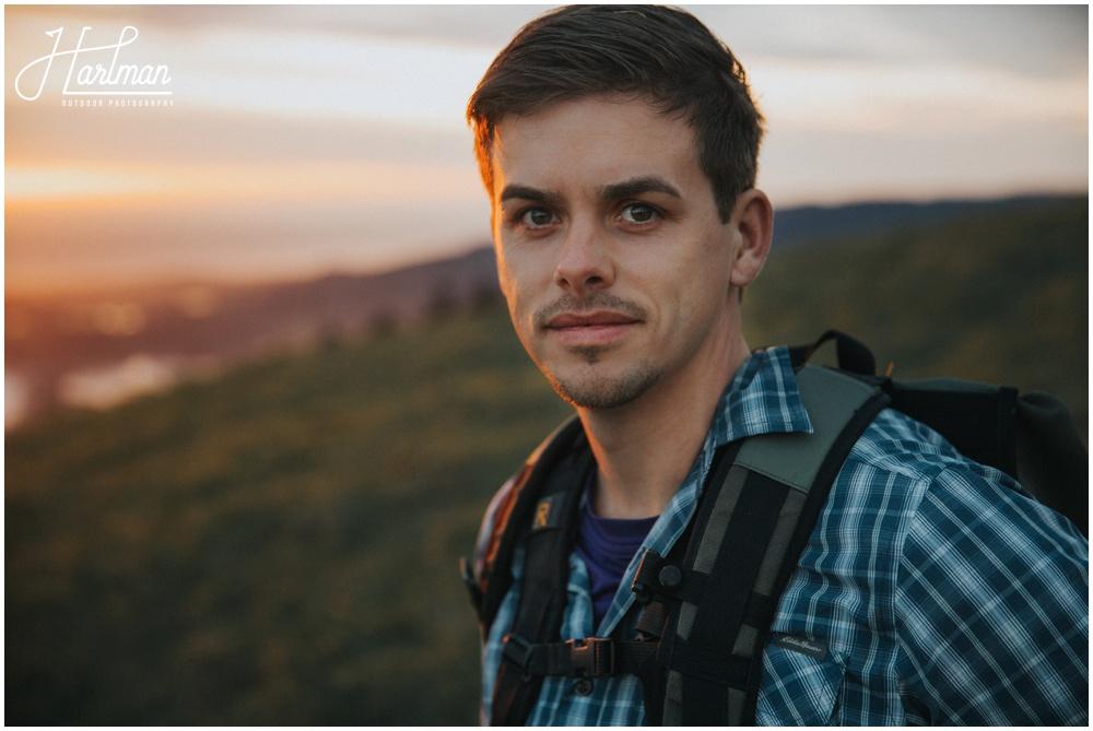 Mt Tamalpais Sunset Portrait Session 0015