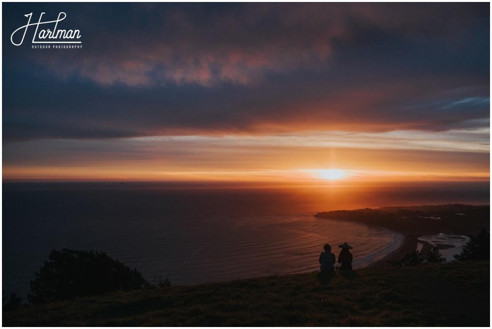 Mt Tamalpais Overlook at Sunset_0016