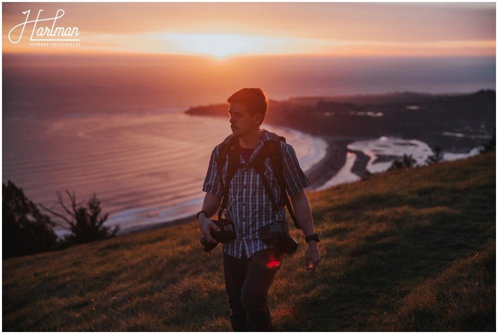 Mt Tamalpais Sunset portrait Session _0019