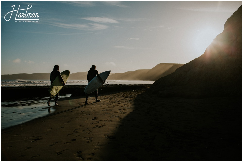 Point Reyes Surfing Engagement Session 051