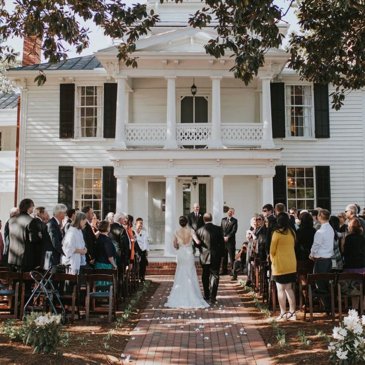 Melanie + Alex | Leslie Alford Mims House Wedding