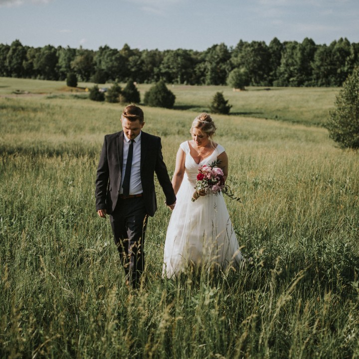 Amber + Johnnie | North Carolina Countryside Elopement