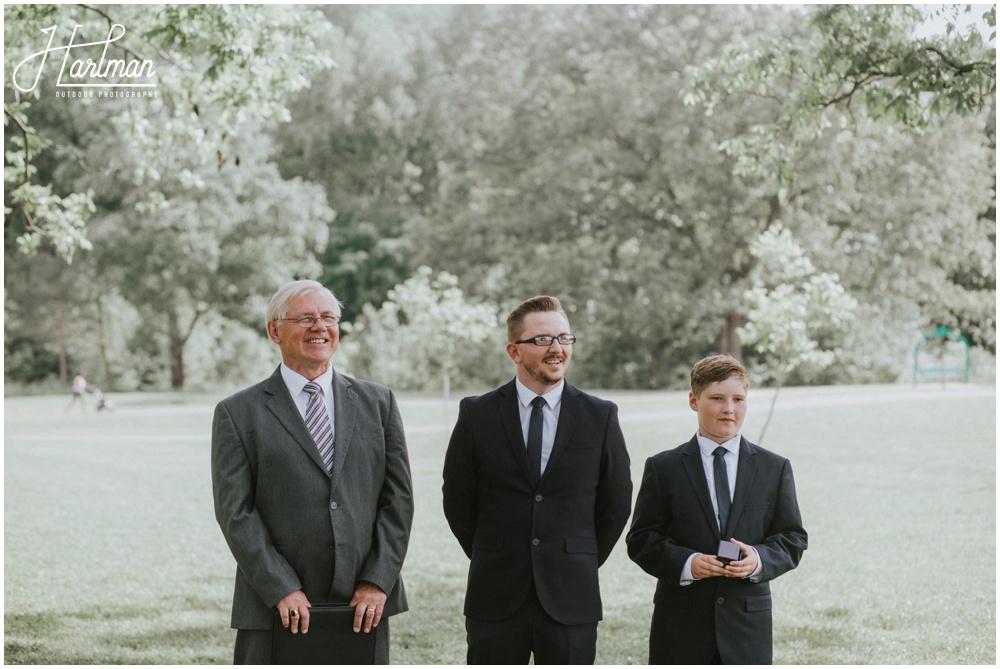 Boone North Carolina Outdoor Wedding Ceremony _0012