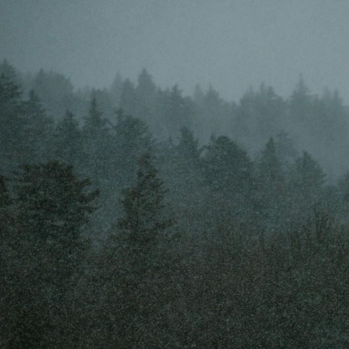 May Snow on the Blue Ridge Parkway | Boone, North Carolina