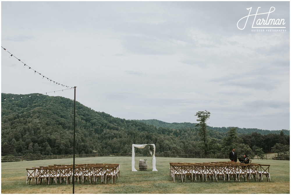 Claxton Farm Outdoor Wedding Ceremony _0018