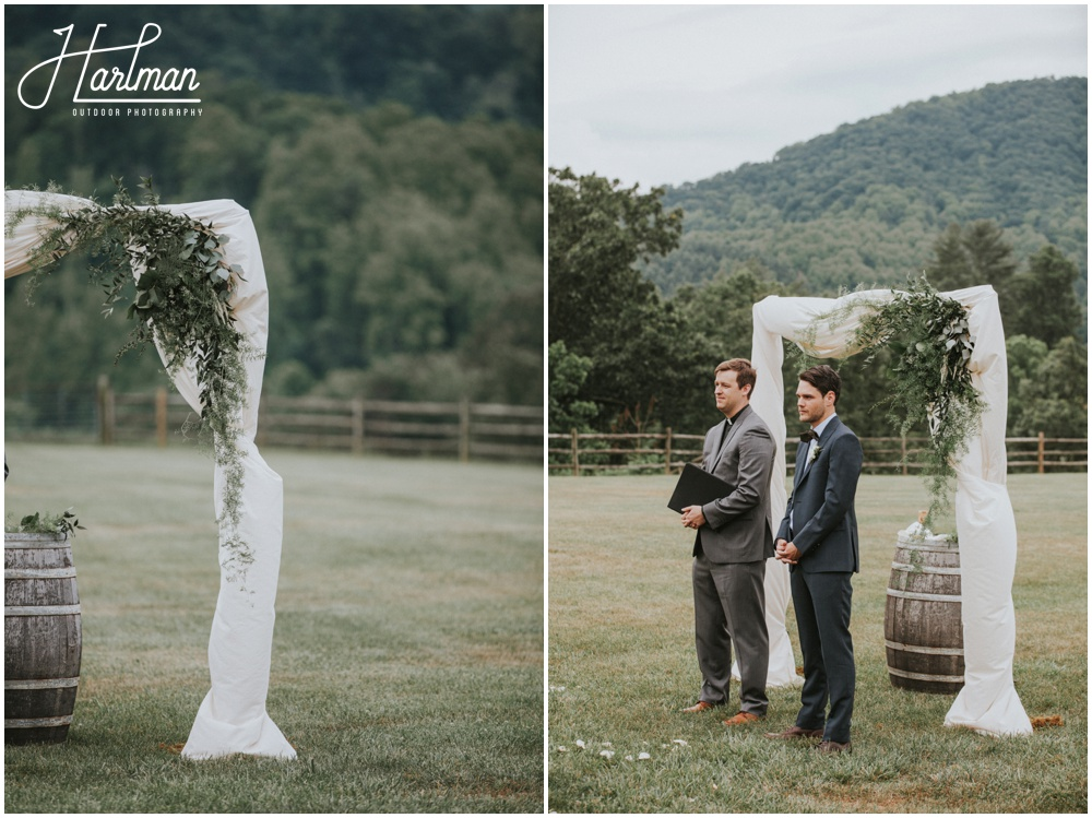 Blue Ridge Mountain Destination Wedding in Asheville, NC _0026