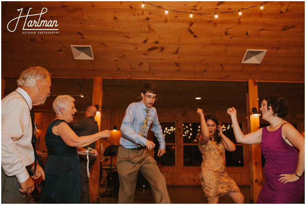 Claxton Farm Wedding Reception in Barn _0099