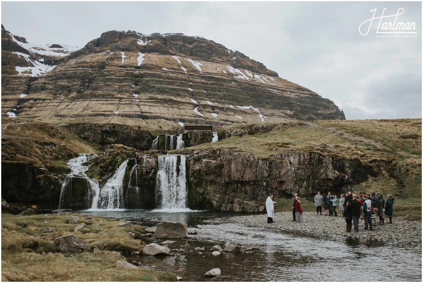 Iceland Adventure Wedding at Kirkjufellfoss _0032