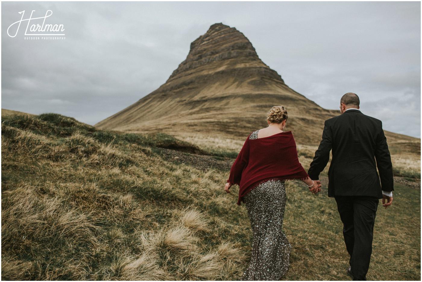 kirkjufell mountain wedding Iceland _0050
