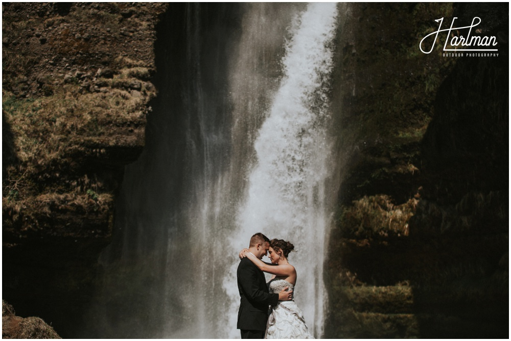 iceland waterfall wedding _0026
