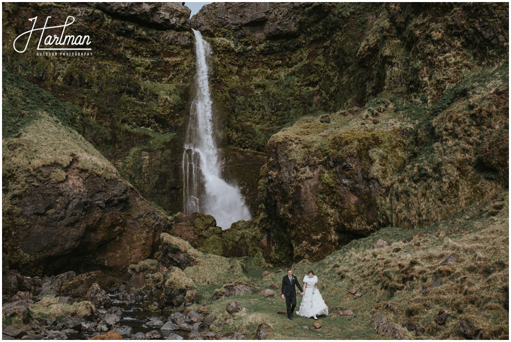 South Iceland Waterfall Wedding _0035
