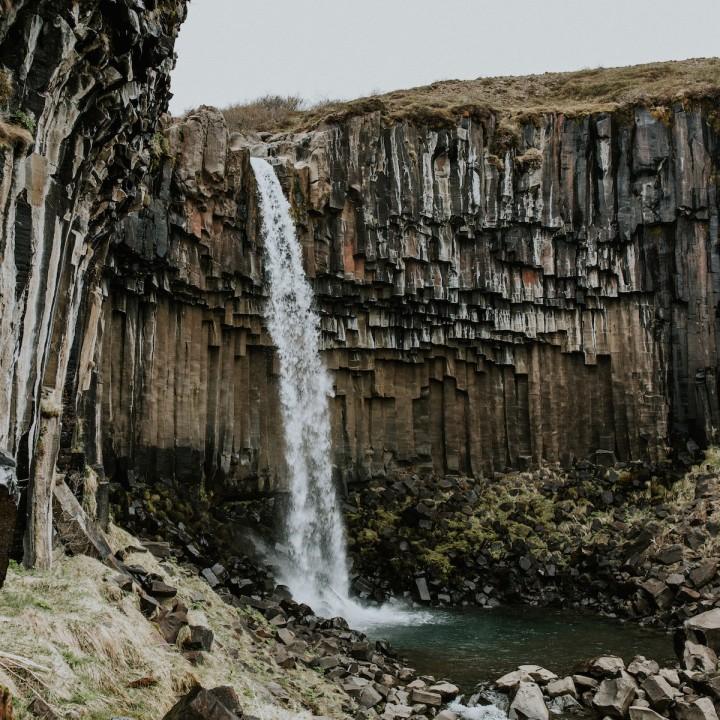 Iceland | Svartifoss + Black Sand Beach