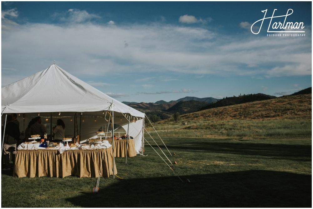 Sun Mountain Lodge Wedding Reception _0076