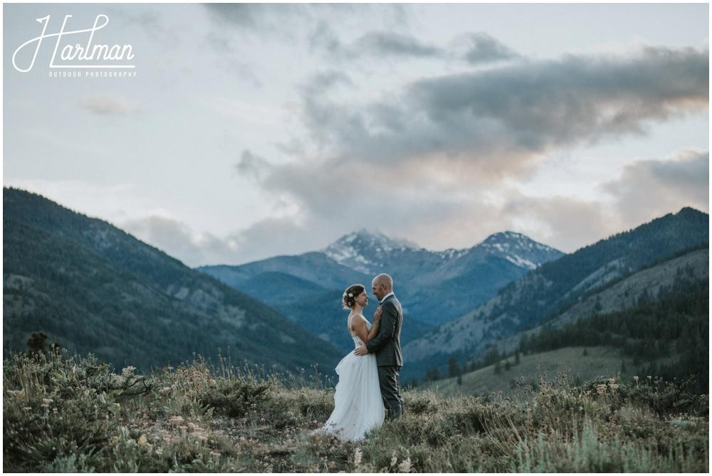 Kim Kevin Mountaintop Wedding In Winthrop Wa