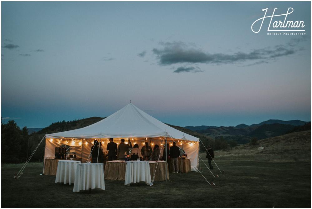Wedding reception venue Wintrop Washington _0122