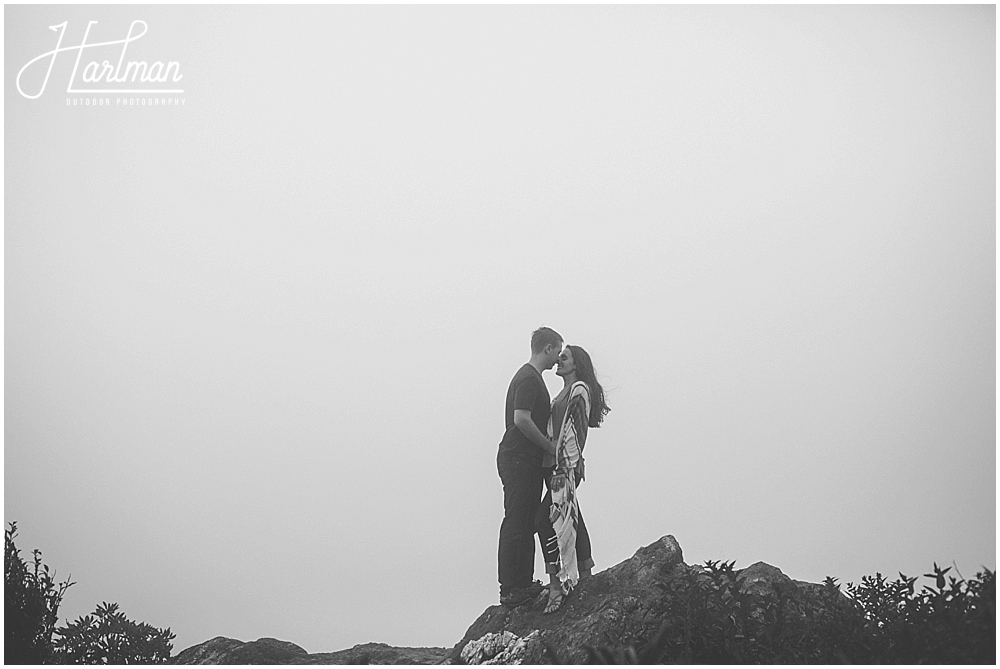 asheville mountain engagement session _0051