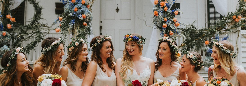 Meg + Fletcher | Colorful Outdoor North Carolina Wedding