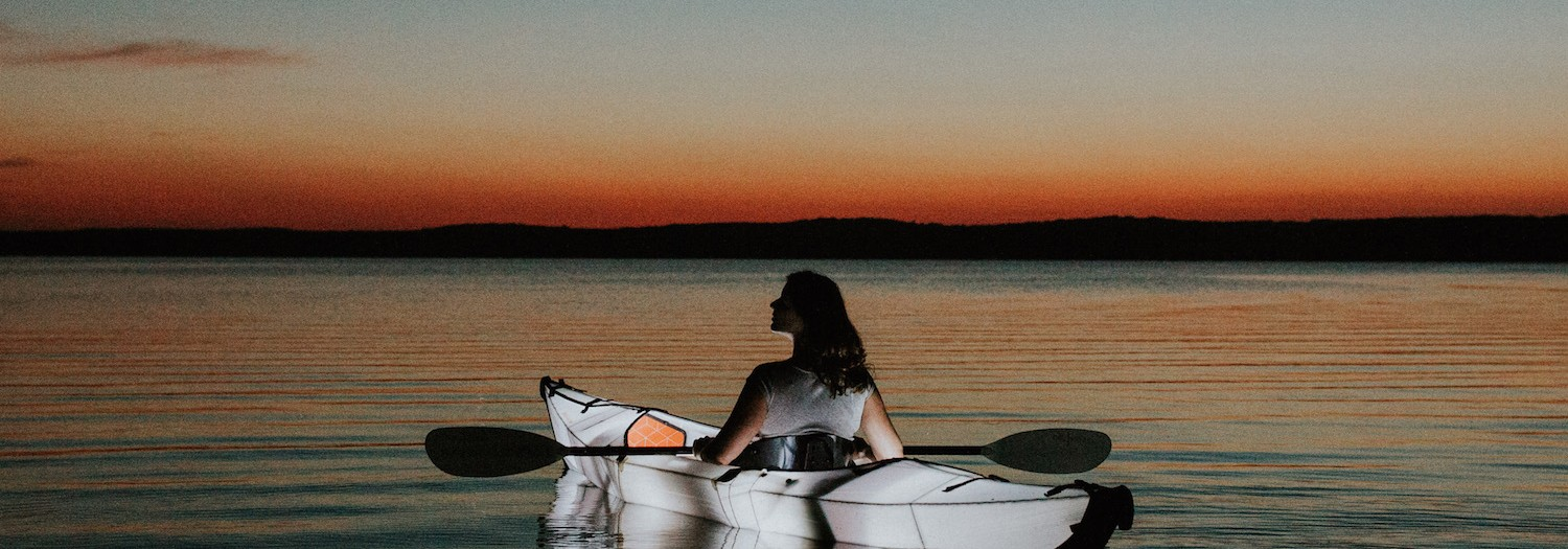 North Carolina | Nighttime Lake Paddle