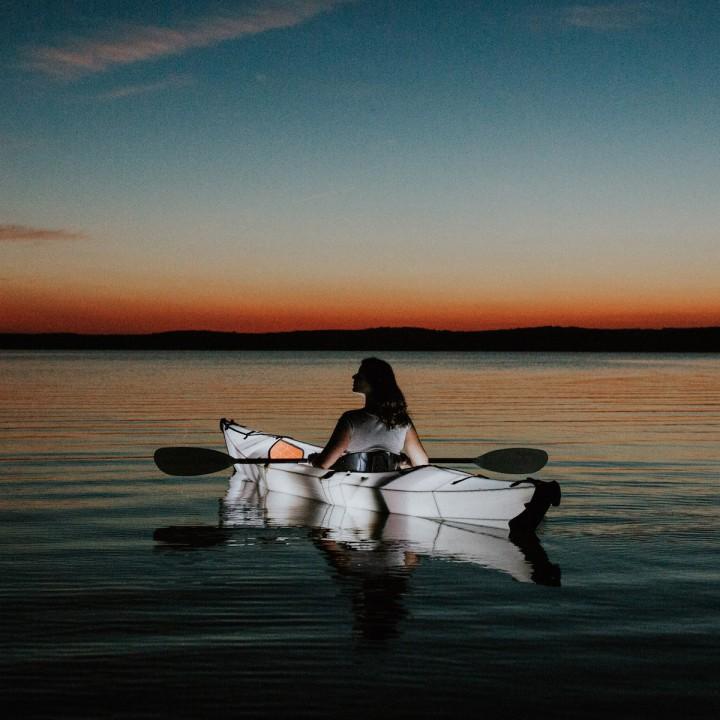 North Carolina | Nighttime Lake Paddle