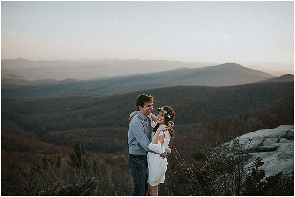 tennessee mountain wedding photographer