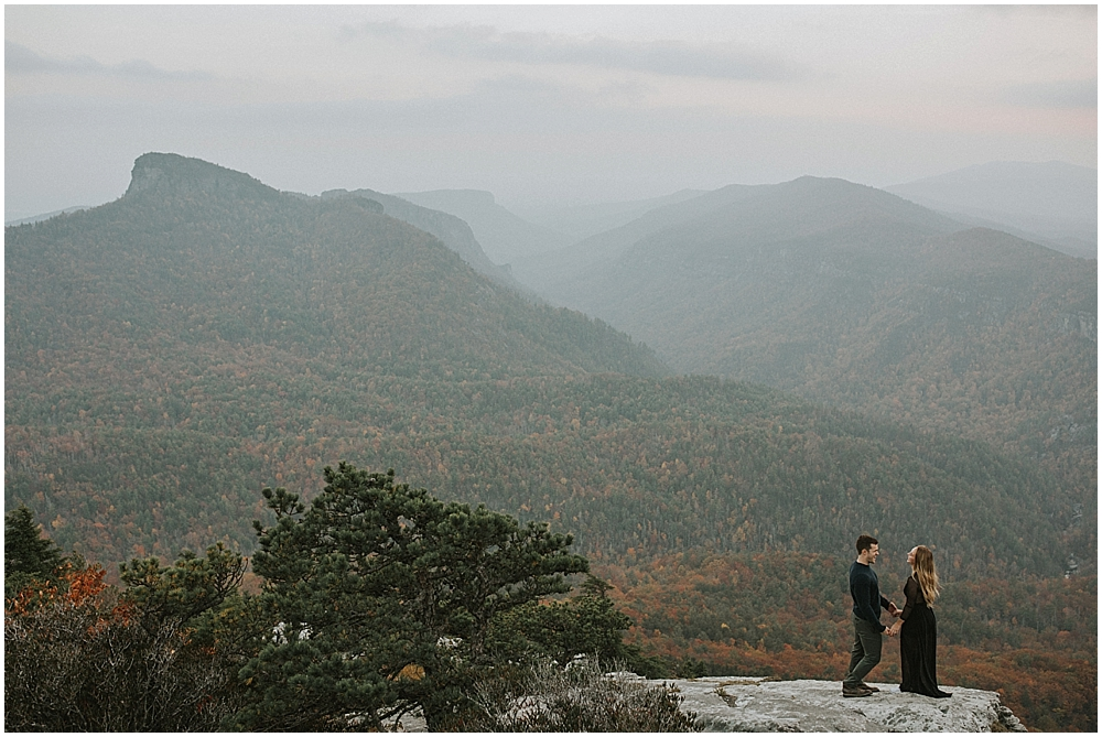 asheville indie mountain elopement