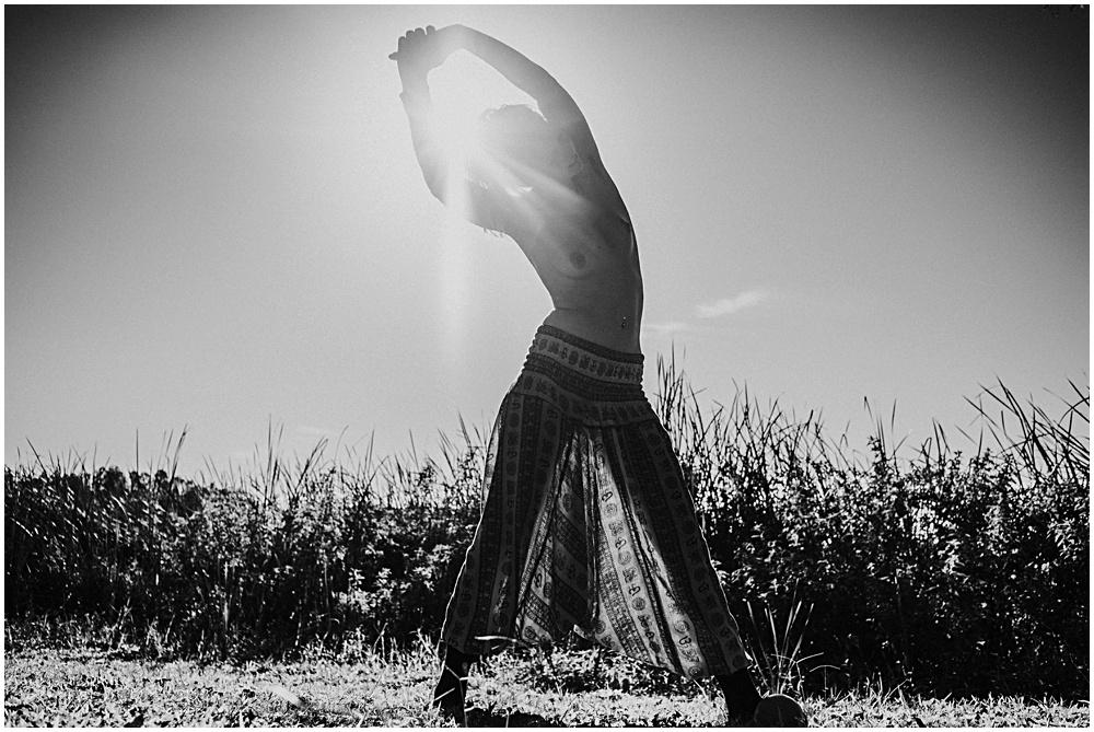 Naked Yoga Nudist Photographer