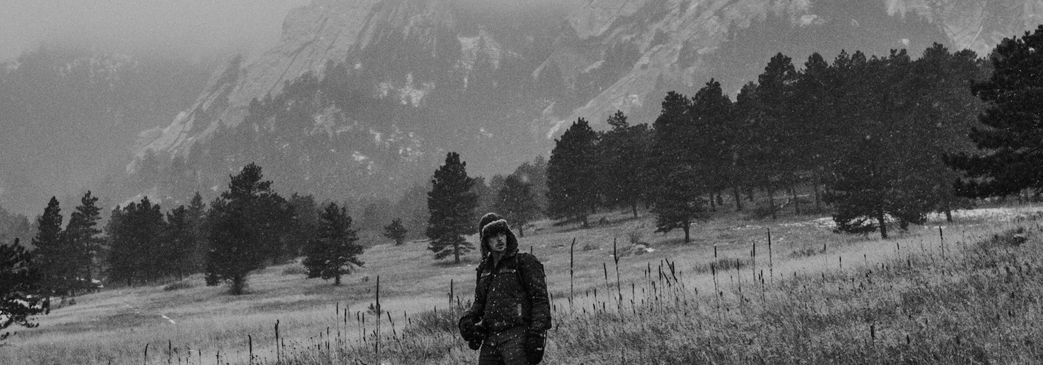 Colorado | Boulder Flatirons Hike in Snow