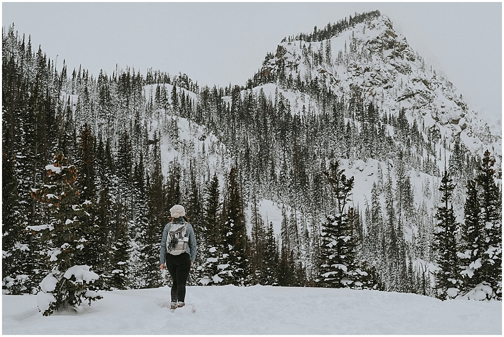 Dream Lake wedding Rocky Mountains