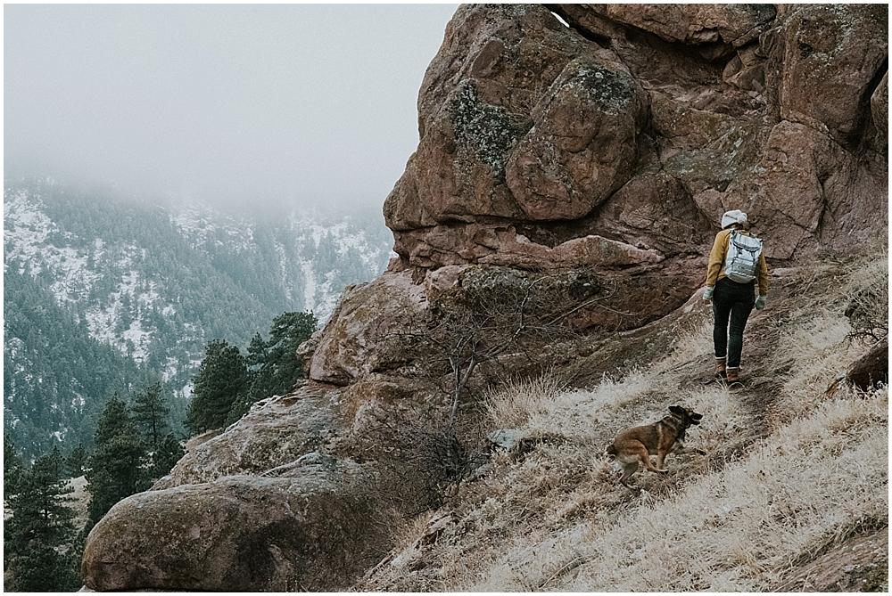 Settlers Park Boulder elopement