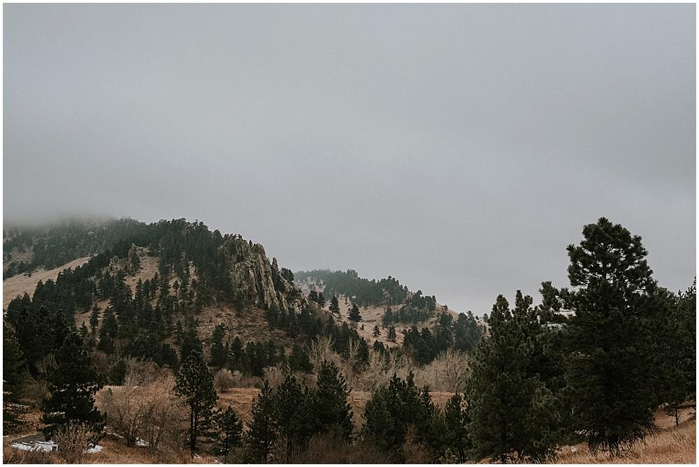 Boulder Colorado elopement