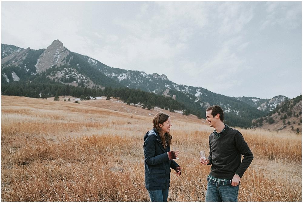 Boulder Flatirons Engagement