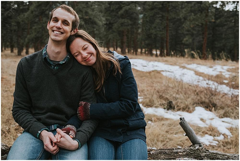 Boulder mountain elopement
