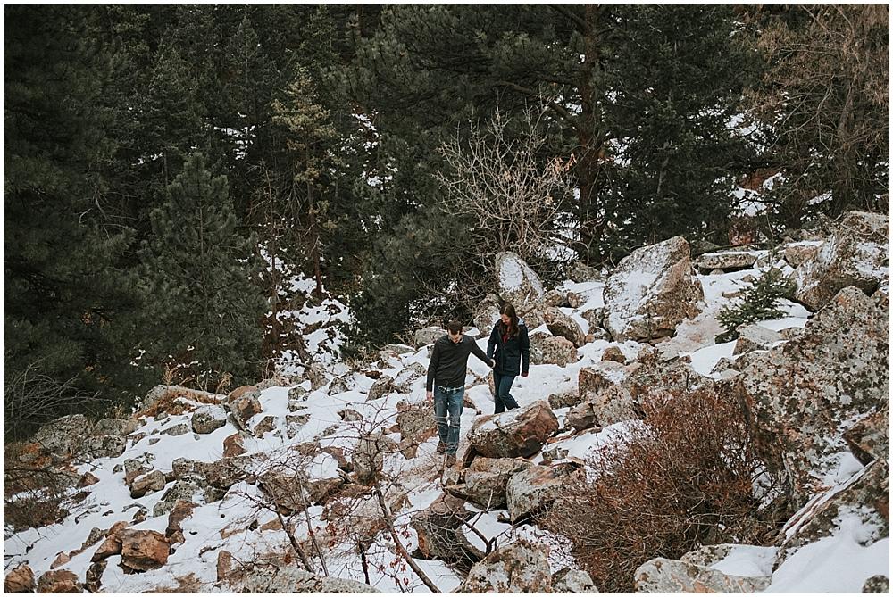 Colorado Rockies elopement