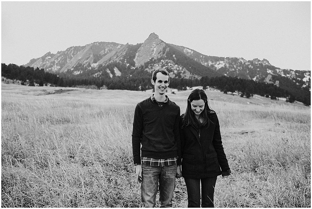 Engagement photos Boulder Colorado
