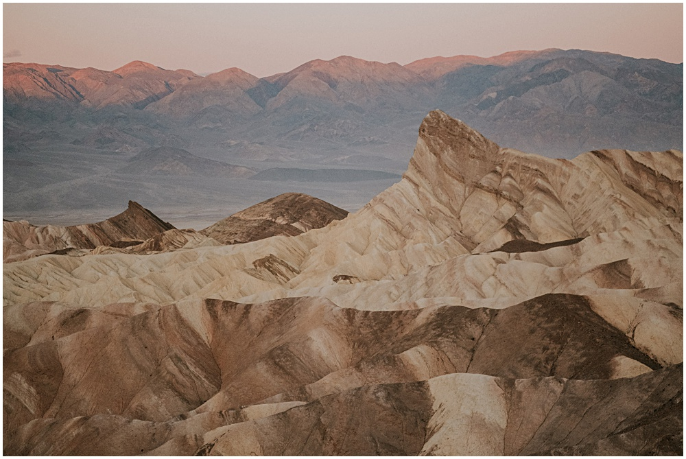Zabriskie Point Wedding ceremony