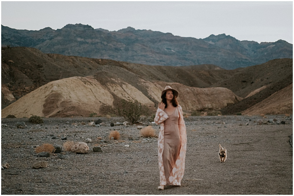 Zabriskie Point engagement session