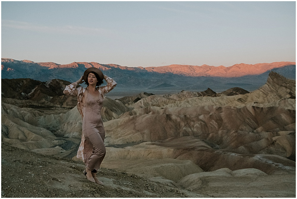 elopement at Death Valley National Park