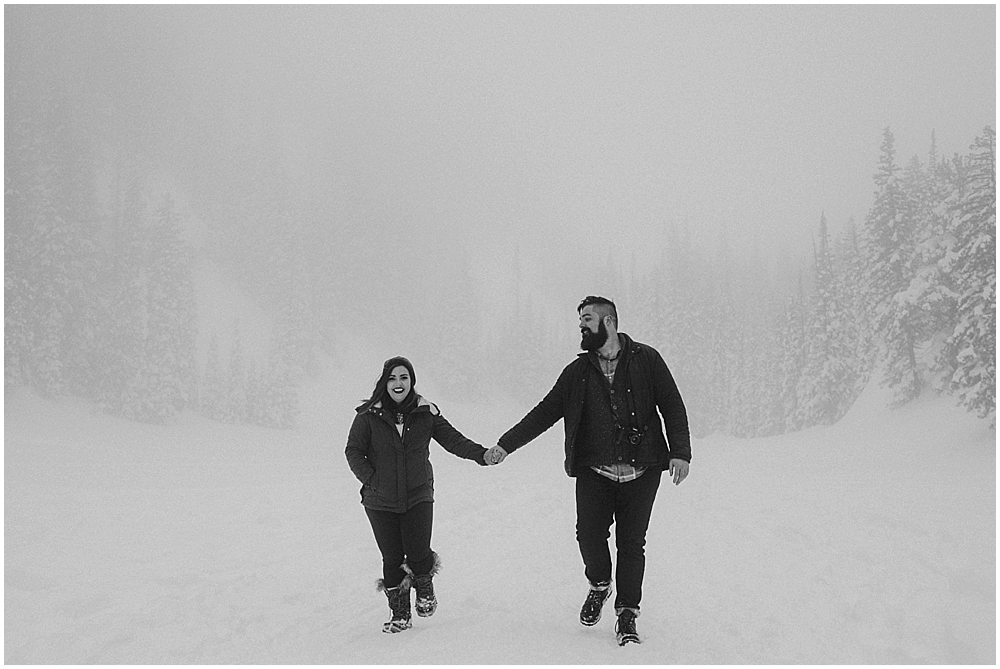 Elopement in Rocky Mountain National Park