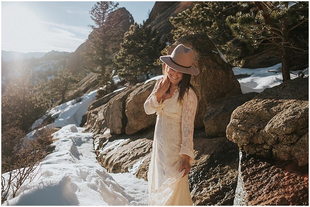 Rocky Mountains Colorado wedding
