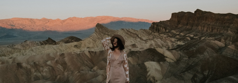 California   Valentines Day in Death Valley