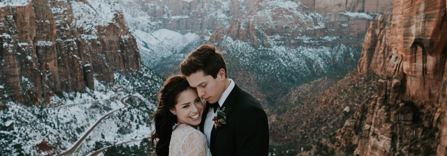 Epic Cliffside Couples Session in Zion National Park, Utah