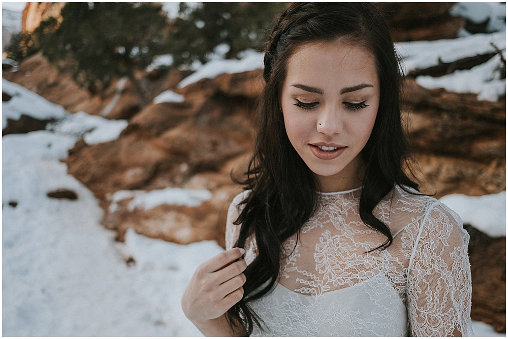 wedding photographer Zion national Park