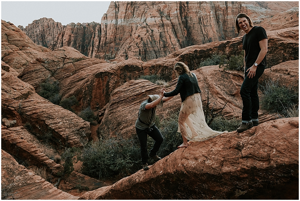 Snow Canyon State Park wedding