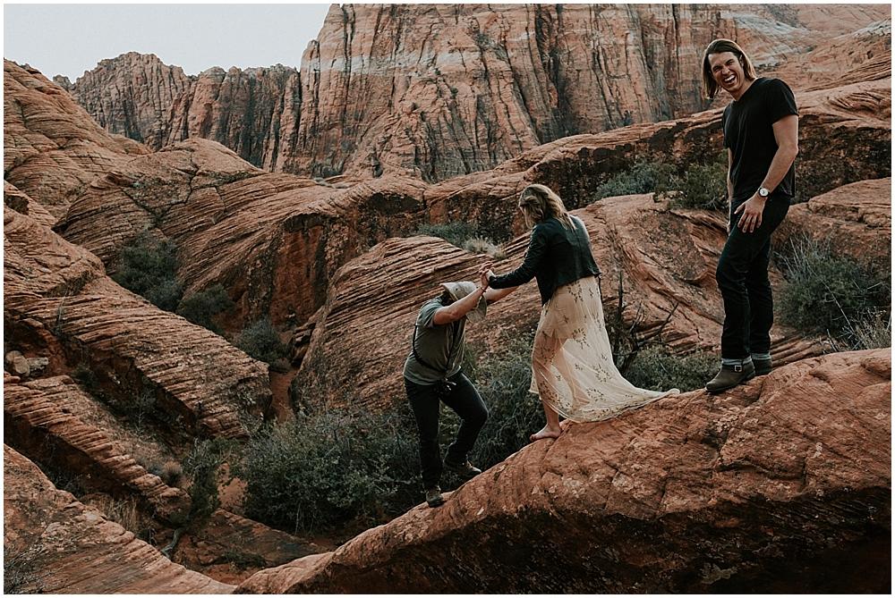 Snow Canyon State Park wedding