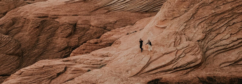 Kari + Ryan | Slot Canyons and Crazy Landscapes in Utah