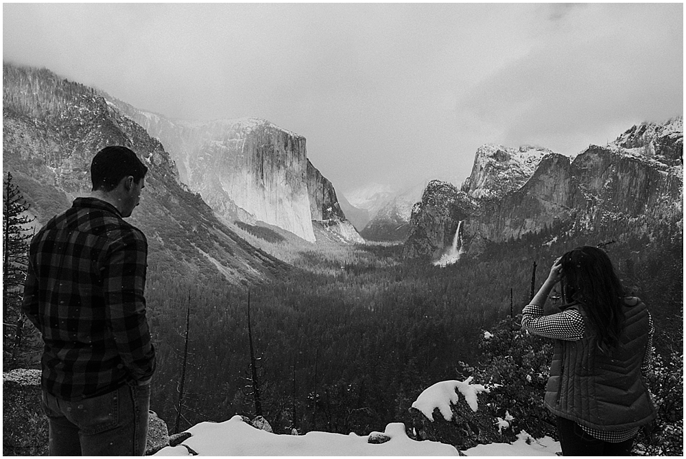 Taft Point elopement Yosemite
