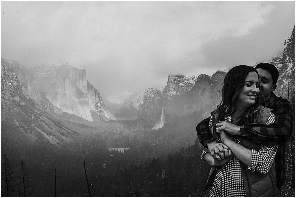 Wedding at Taft Point Yosemite