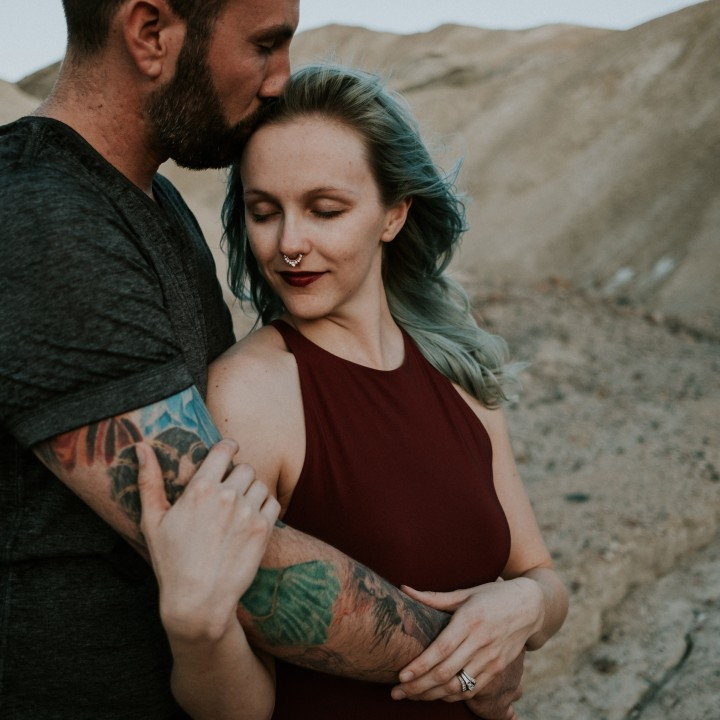 Brittany + Ross | Death Valley National Park